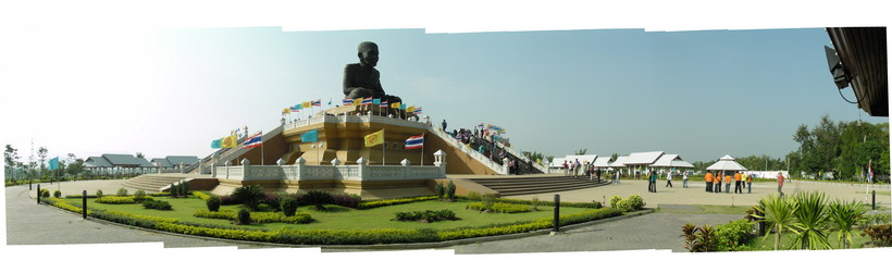 A Bhudda statue in Thailand